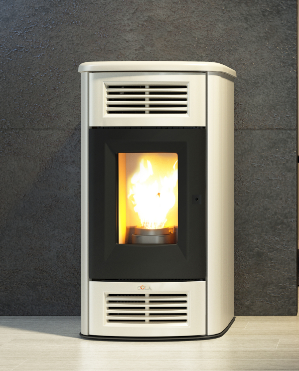 Beauty 13 ductable cola stoves for Stufa a pellet anselmo cola
